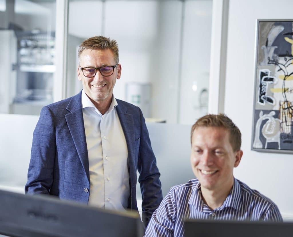 Tommy Svendens og Rune Limkilde Dansk ErhvervsFinansiering